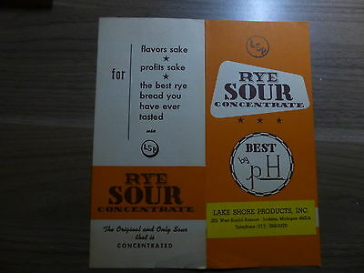 Literature for Bakeries - LSP Rye Sour Concentrate - Pamphlet