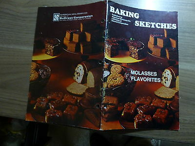 Literature for Bakeries - American Molasses - Favorites Brown Cover 26 pgs 1970