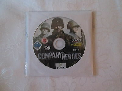 2 Disc Pc  Game - Company Of Heroes . As New Condition