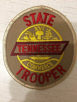Shoulder Patch Police Tennessee Highway Patrol State Trooper USA Original New