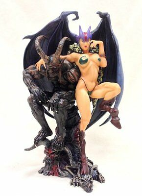 Limited Edition Gothic Fairy Gargoyle Dragon Satanika Statue Figurine Based on