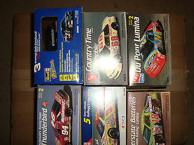 Lot of 6 Stock Cars 1/25
