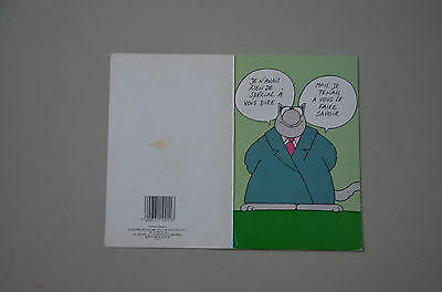GELUCK - CP Le Chat - P&T Production 1988 - G 11