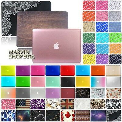Frosted Matte Rubberized Hardshell Case Cover  For Apple Macbook  Air 11 13 inch