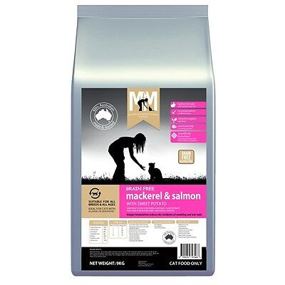 New Meals For Mutts Cat Grain Free Mack & Salmon 9kg