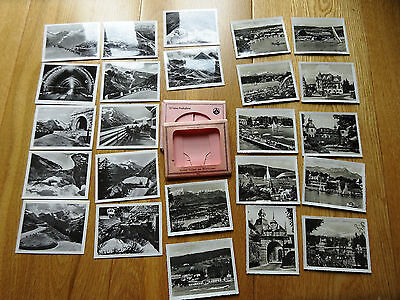 Vintage Austrian picture pack of tourist photos  - 2 packs of 12 - approx 1950s