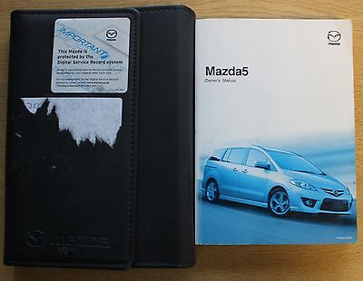Mazda 5 Handbook Owners Manual Wallet 2005-2008 Pack 11570