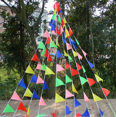 1Pcs Wedding Banner Bunting Pennant Flag Party Birthday Rainbow for Celebration