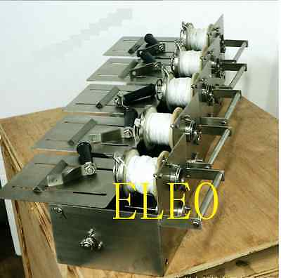 NEW 52mm Manual Hand-rolling Sausage Tying & Knotting Machine Stainless Steel