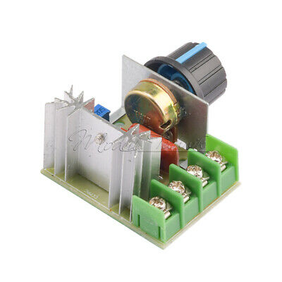 220V 2000W Speed Controller SCR Voltage Regulator Dimming Dimmers Thermostat New