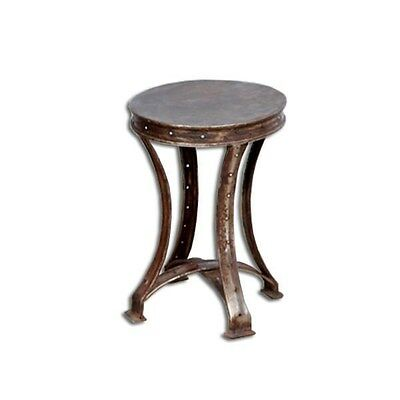 Silkroute STO103-1  Iron Stool With Legs
