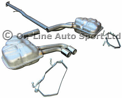 Mini Cooper S (01-04) R53 Exhaust System - Front Pipe Centre Box Rear Standard