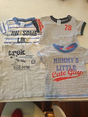Toddler Tshirts Size 6-12 Months