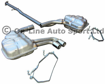 Mini Cooper S ('04-'06) R53 Exhaust System - Front Pipe Centre Box Rear Standard