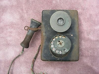 old telephone for parts