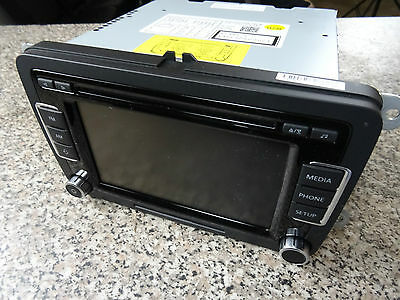 Org. VW CD RCD510 Radio Navigation Touchscreen Multimedia  5K0035190B