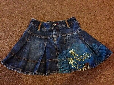 Girls Catimini Skirt Age 4 Years Excellent Condition