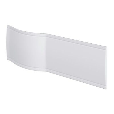 Bathroom Front Side Panel for Curved P Shape Shower Bath Tub 515mm x 1680mm
