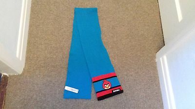 angry birds blue scarf 8-12 years vgc