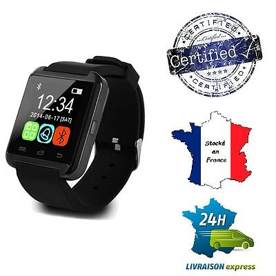 Montre bluetooth smart Watch iOS ANDROID iPhone Samsung Tactile u80