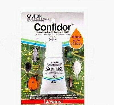 YATES CONFIDOR CONCENTRATE INSCTICIDE 8ml