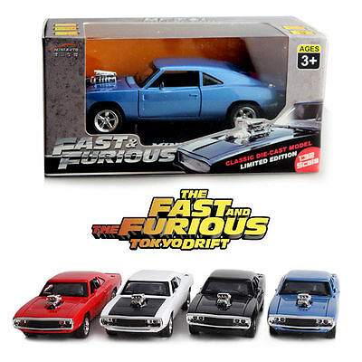 1:32 Dodge Charger Fast & Furious Alloy Diecast Model Vehicle Car Collection Toy