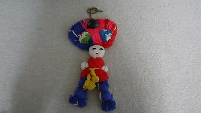 Mexican Doll Wall Hanging 14''