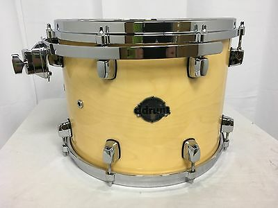 "Ddrum Dominion Maple 14"" Mounted Tom/Maple Shell/Natural/NEW"