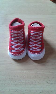STOCKING FILLERS Baby Converse All Star socks 0-6 months