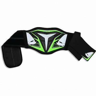 UFO Youth Demon Body Kidney Belt Protector Motocross MX Enduro Green CI02357AFLU