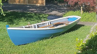Rowing Skiff Boat 4.6mt and oars Pick up Sydney Wollongong or Bowral