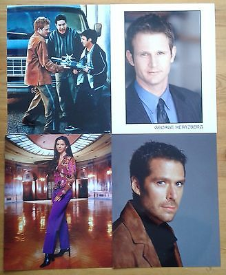 Selection of 8x10 photos of Buffy the Vampire Slayer & Angel characters/actors
