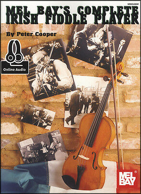 Complete Irish Fiddle Player Sheet Music Book with Audio Method Learn To Play