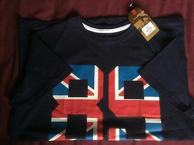 bnwt boys navy t shirt size 11-12 years