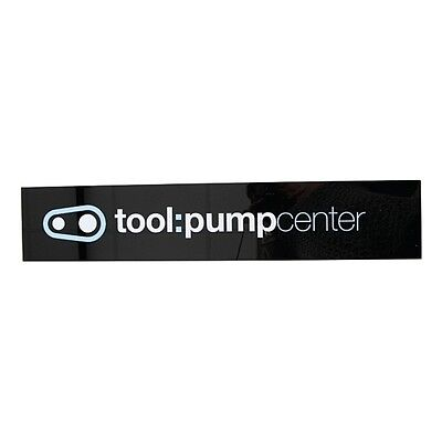 """CRANKBROTHERS """"Tool Center Sign"""" dimensions: 63,5 x 12,7cm 469656"""