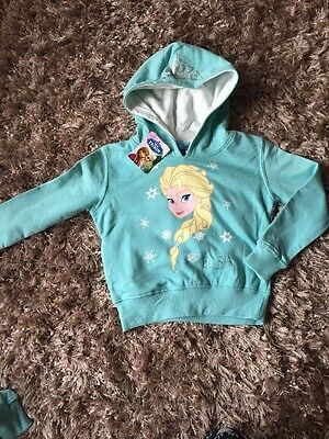 Bnwt Disney Frozen Elsa Hoody Jumper 2-3yrs