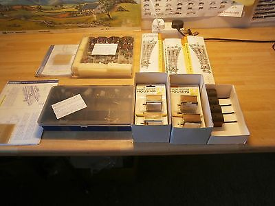 Job Lot Hornby Points, Motors, Switches, Housings New X 14 Complete