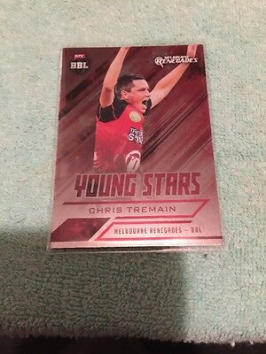 2016/17 Tap N Play Cricket Young Stars Card YS6 Chris Tremain