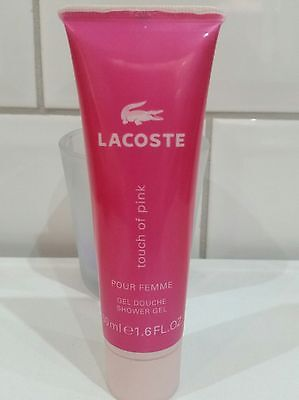 LACOSTE  SHOWER GEL *touch of pink**