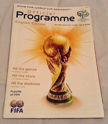 2006 Fifa World Cup - Germany - Official Programme (English Language)
