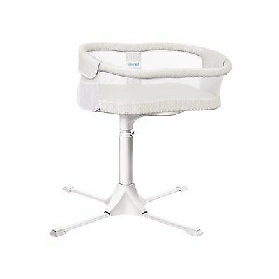 Halo Bassinest Essentia Swivel Sleeper in White and Gold Honeycomb Brand New