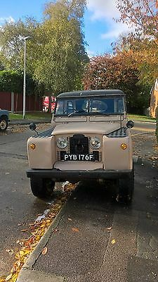 Series 2 Land Rover tax free