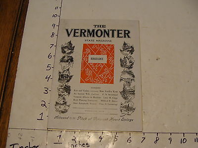 Vintage Travel Paper--THE VERMONTER--FEBRUARY 1942
