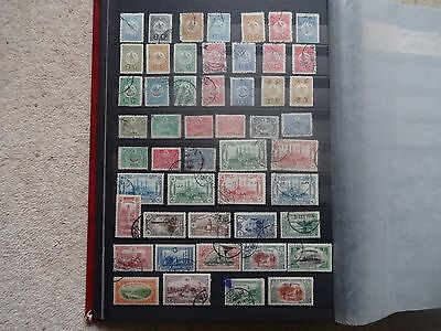 Turkey Collection Of 55 Stamps 1909-14 Incl 1913 20Pa On 40Pa Postage Due Used