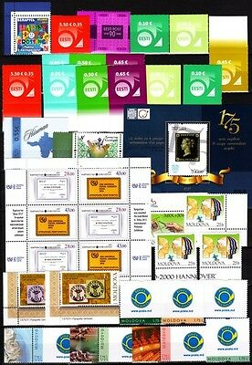 Ex-SU Post, Philately, Expositions. 1997-2015, MNH. Wahlen / Choice