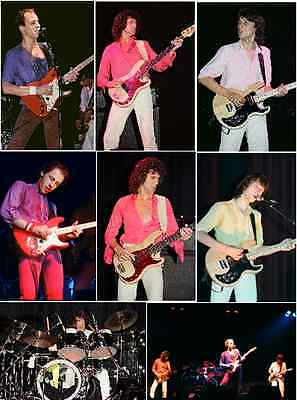 25 Dire Straits colour concert photos Liverpool/Birmingham 1979