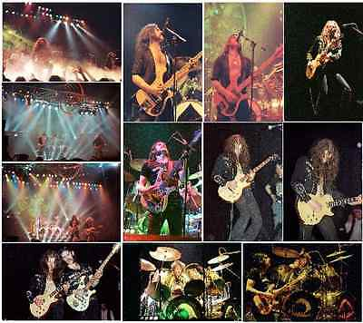 25 Motorhead (classic line-up) Colour Concert Photos 1979, 80 and 81