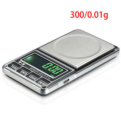 Home Electronic Pocket Mini Digital Jewellery Weighing Scales 0.01G to 1000Grams