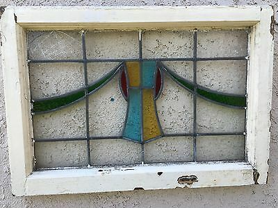 Very Nice Antique Stained Glass Window