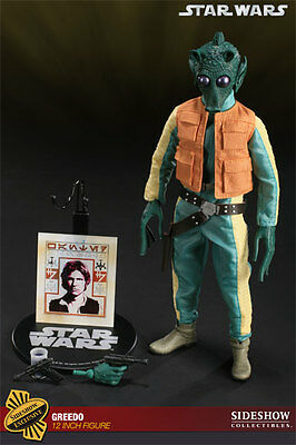 MIB Sideshow Collectibles Greedo 1:6 Scale Exclusive